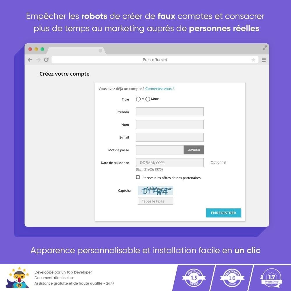 module - Sécurité & Accès - Ultimate Math CAPTCHA / Sécurité anti-spam améliorée - 7