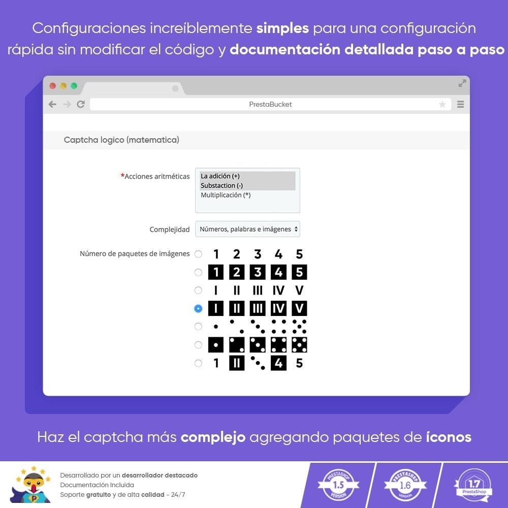 module - Seguridad y Accesos - Ultimate Math CAPTCHA / Seguridad antispam mejorada - 4