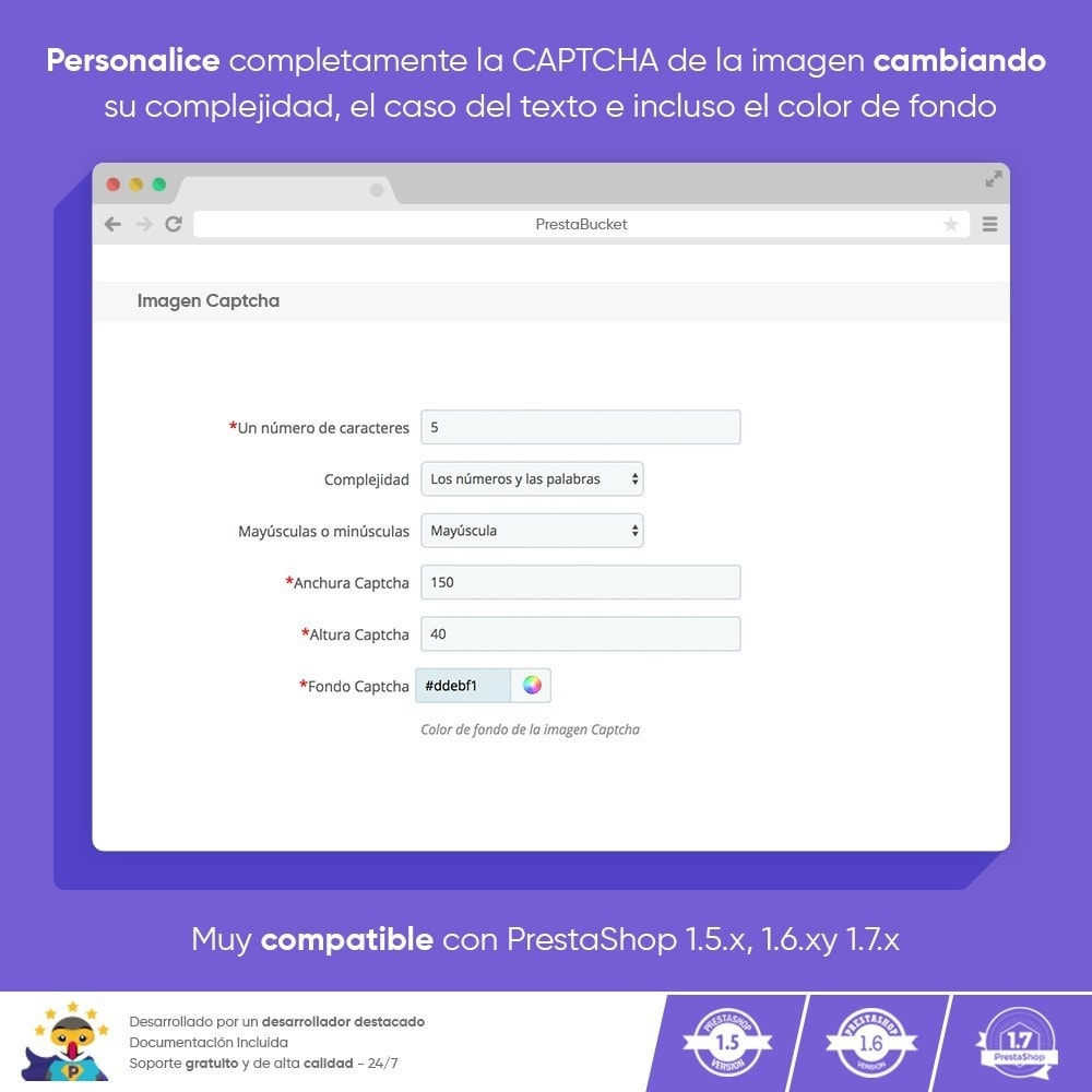 module - Seguridad y Accesos - Ultimate Math CAPTCHA / Seguridad antispam mejorada - 5