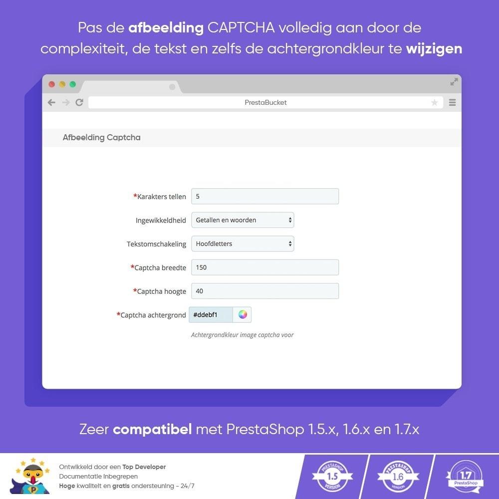 module - Veiligheid & Toegang - Ultieme Math CAPTCHA / Verbeterde Anti-spam - 5