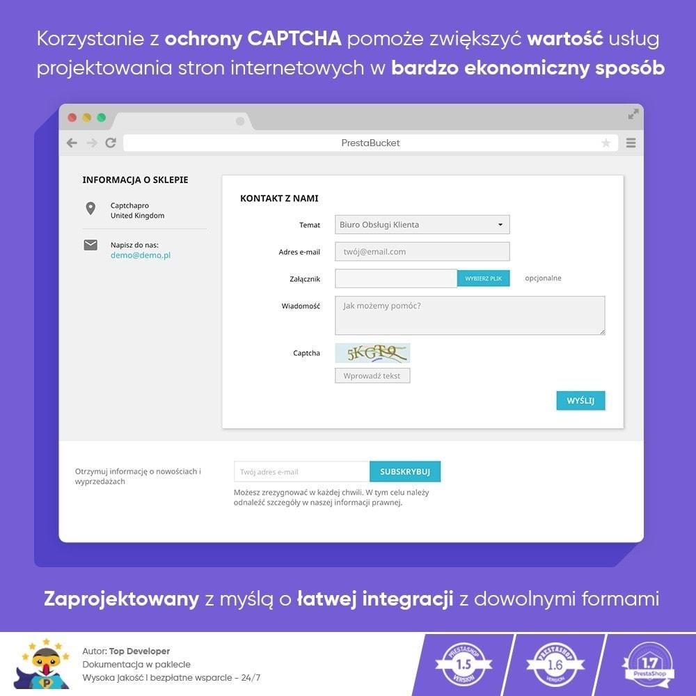 module - Bezpieczeństwa & Dostępu - Ultimate Math CAPTCHA / Enhanced Anti-Spam Security - 2