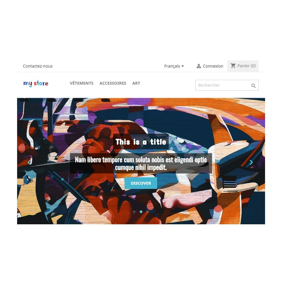 module - Slider & Gallerie - Homepage Slider - 3