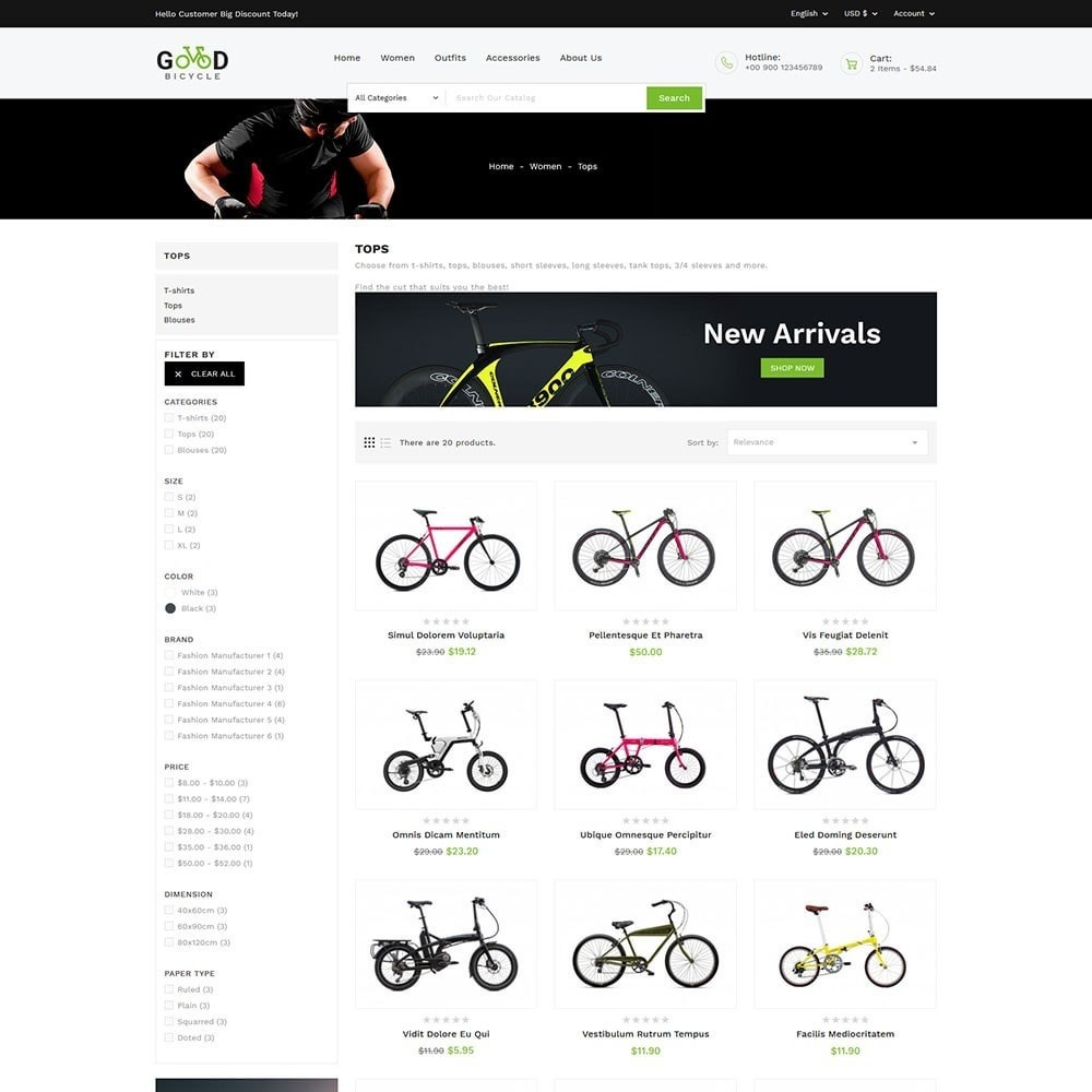 theme - Sports, Activities & Travel - Good Bicycle and Sports Store - 5