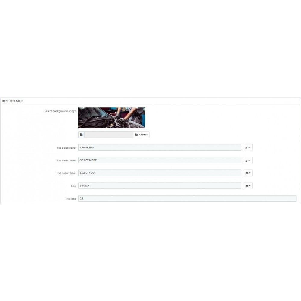 module - Menu - Car Menu Selector - 6