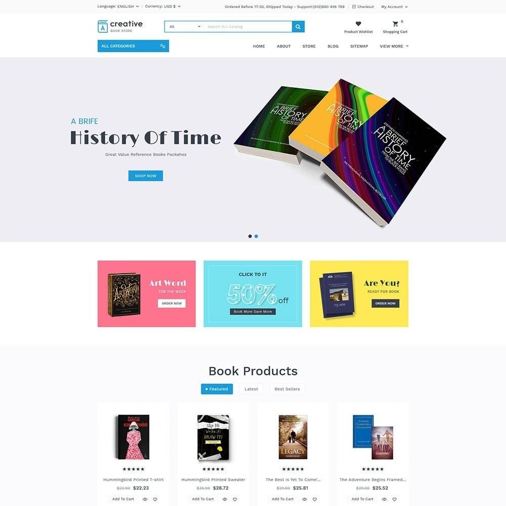 theme - Arte e Cultura - Creative Book Store - 3