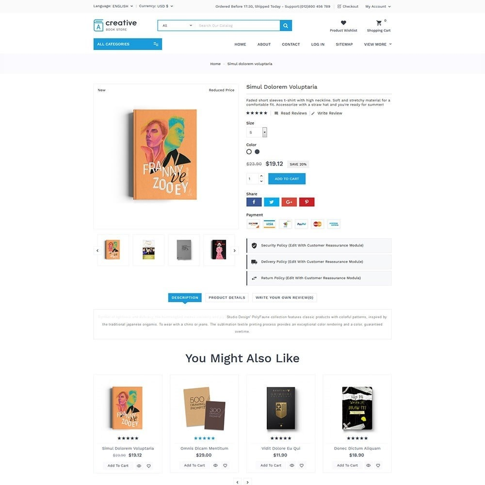 theme - Arte e Cultura - Creative Book Store - 4