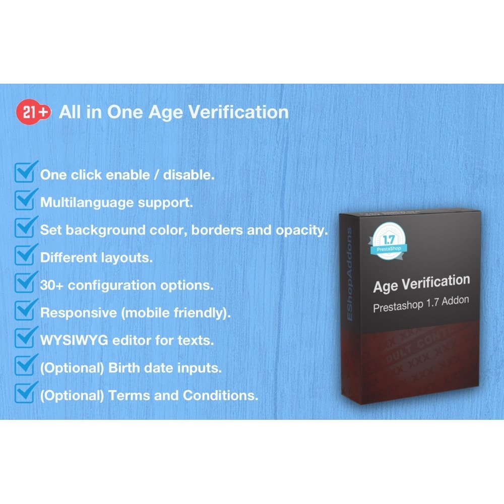module - Security & Access - All in One Age Verification Popup - 1