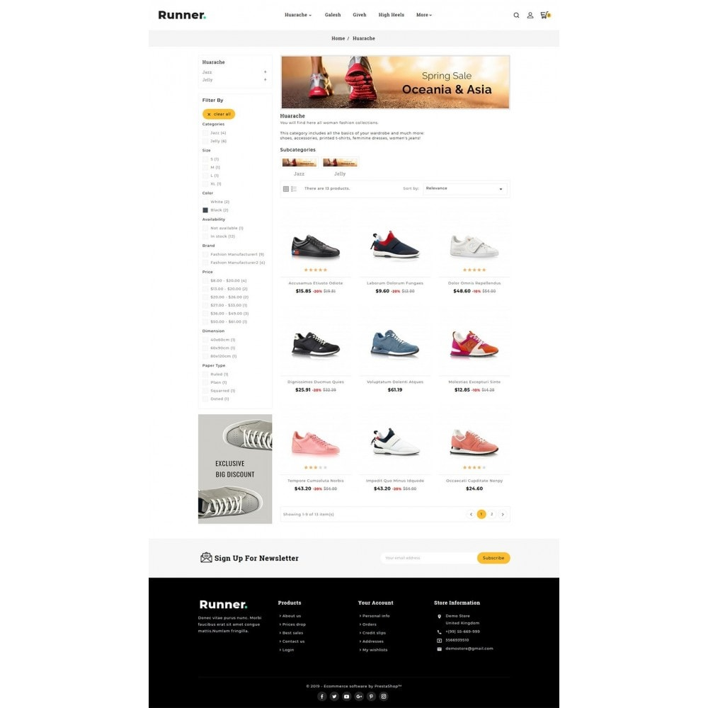 theme - Sport, Activiteiten & Reizen - Runner - Sports Shoes & Footwear - 3
