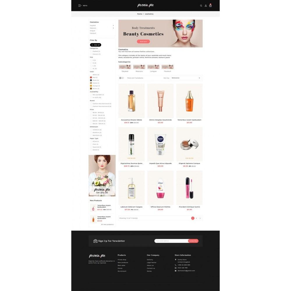 theme - Health & Beauty - Peonia Pie - Beauty Cosmetics - 3