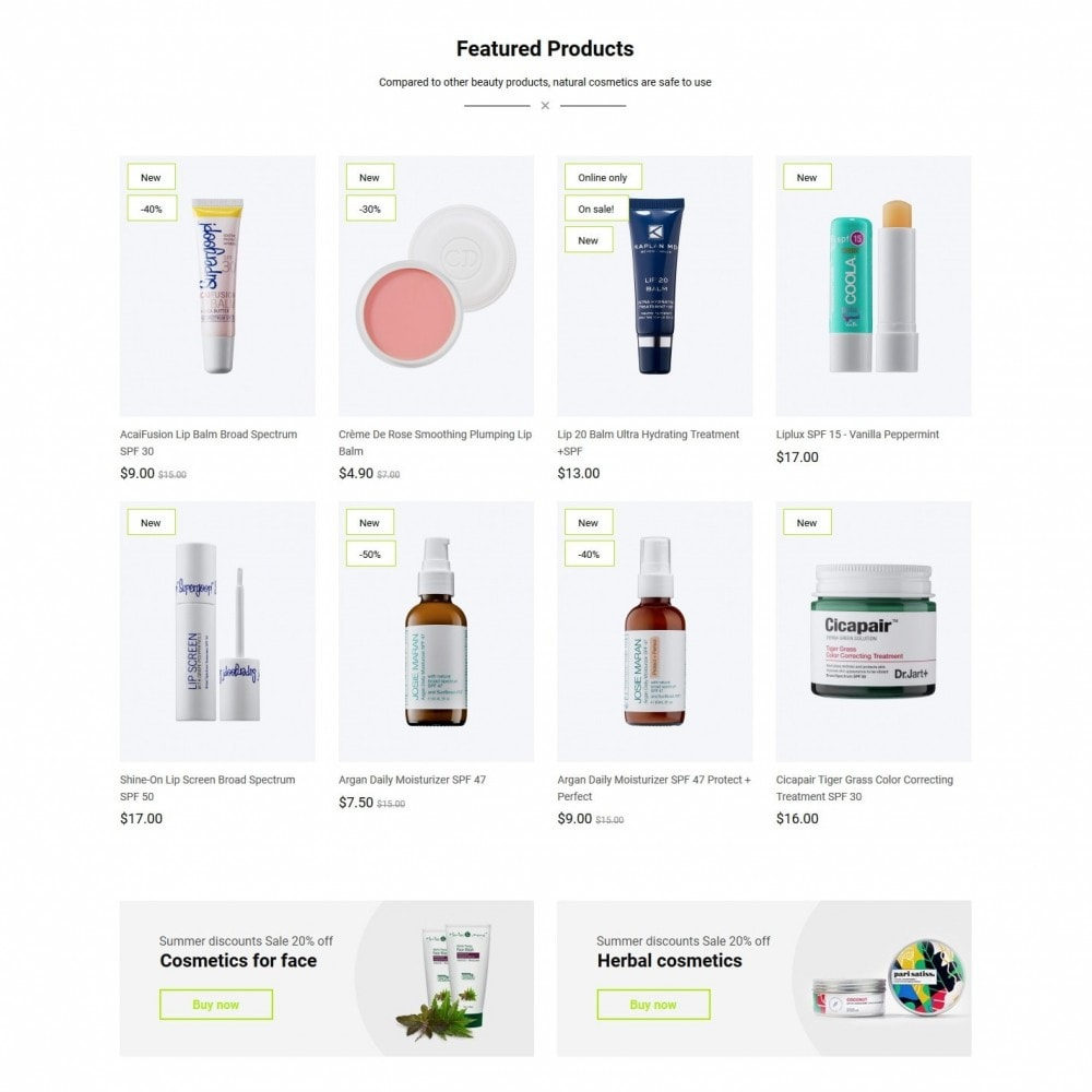theme - Health & Beauty - Veriton Cosmetics - 3