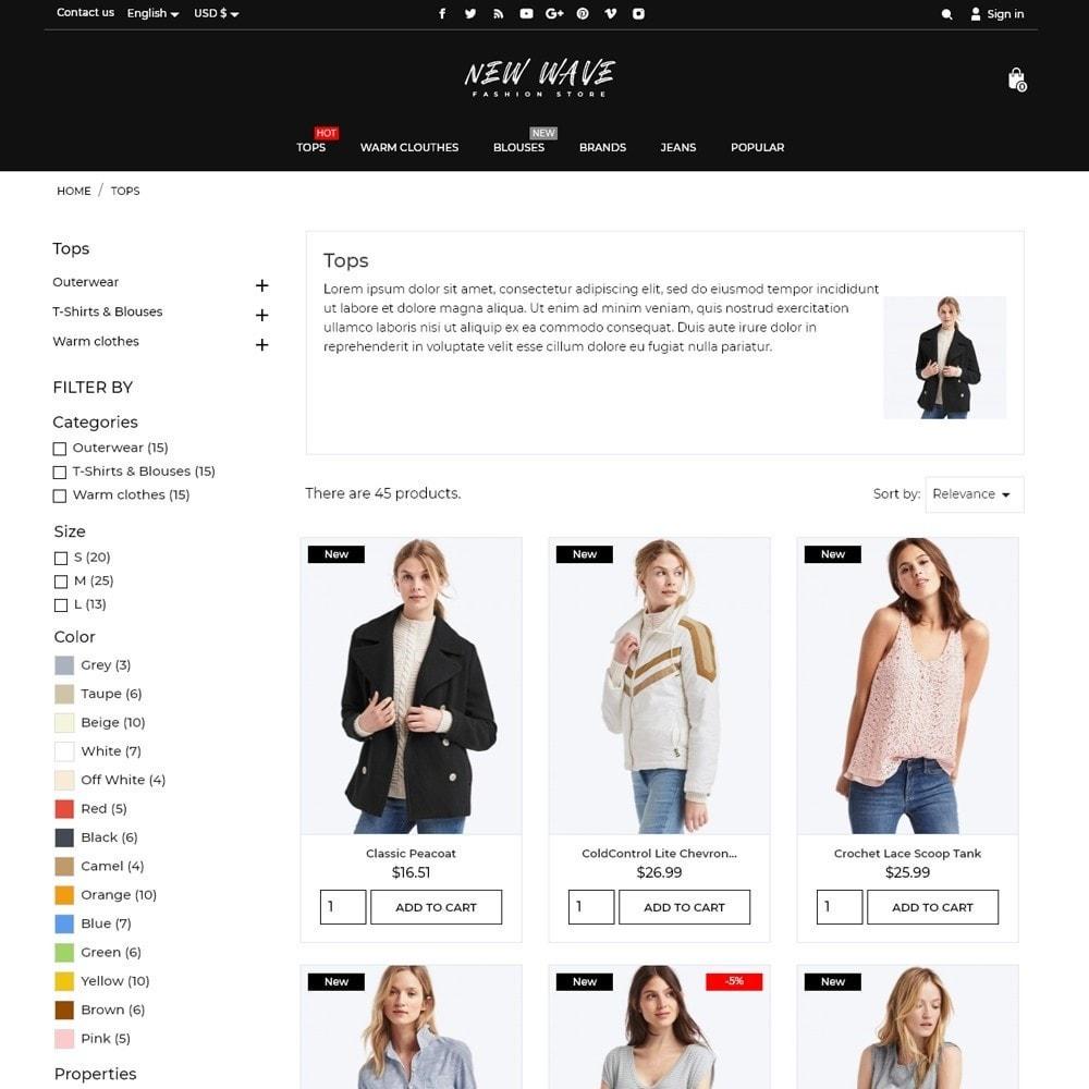 theme - Fashion & Shoes - New Wave Fashion Store - 6