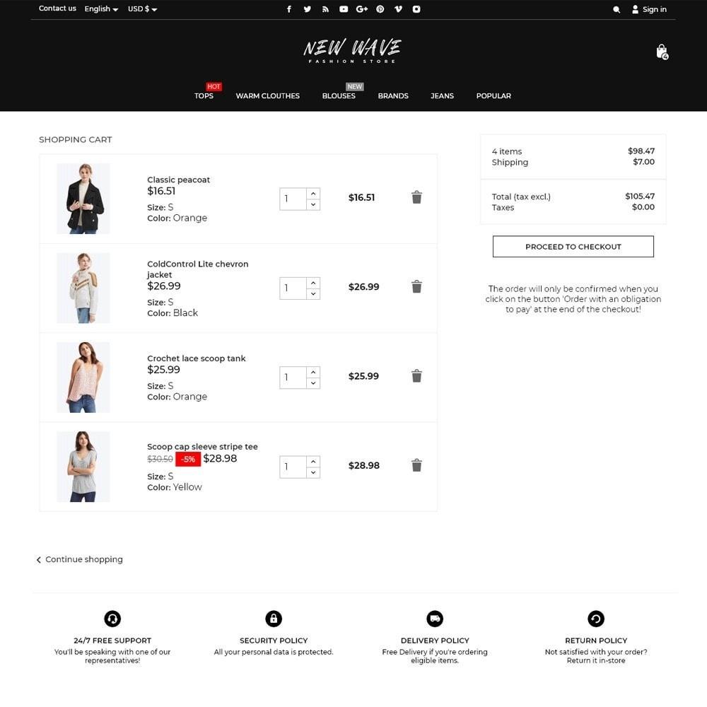 theme - Fashion & Shoes - New Wave Fashion Store - 7