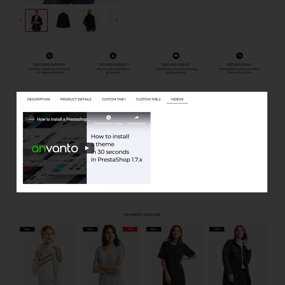theme - Fashion & Shoes - New Wave Fashion Store - 9