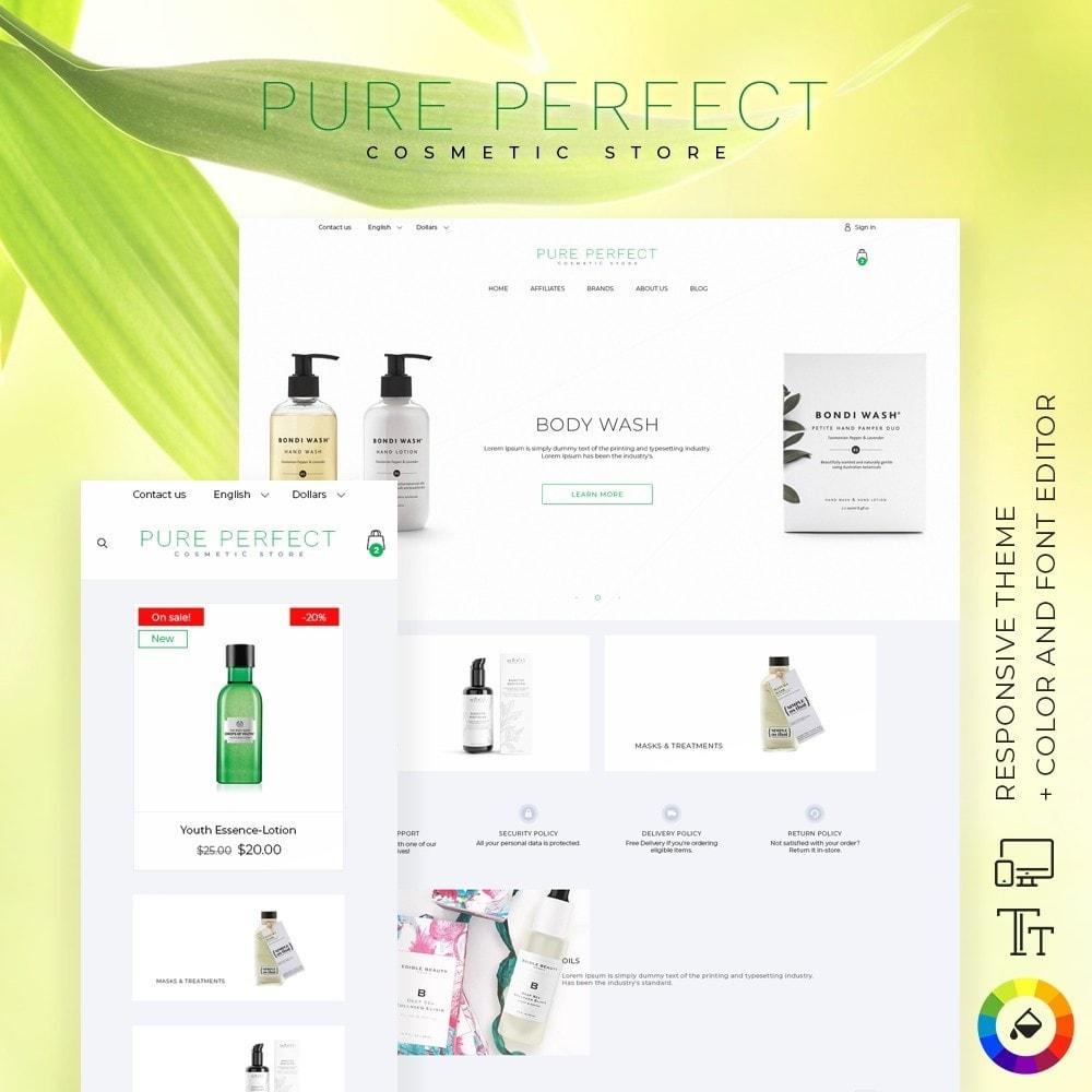 theme - Health & Beauty - Pure Perfect Cosmetics - 1