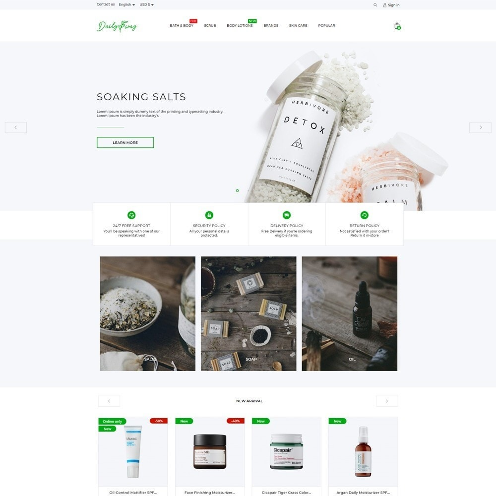 theme - Health & Beauty - Daily way Cosmetics - 2