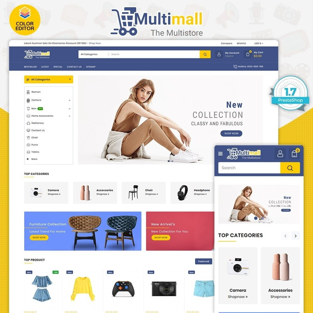 theme - Elektronik & High Tech - Multimall - The Multi Store - 1