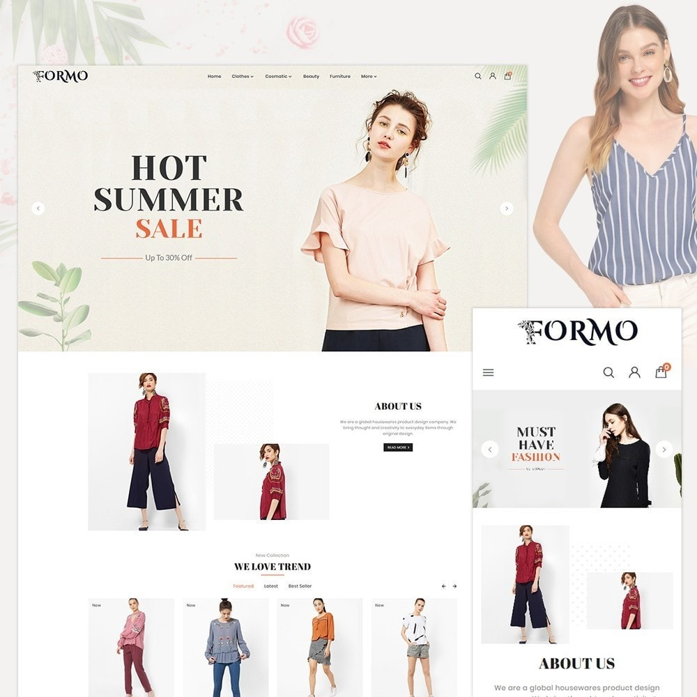 theme - Mode & Chaussures - Formo Fashion Shop - 1