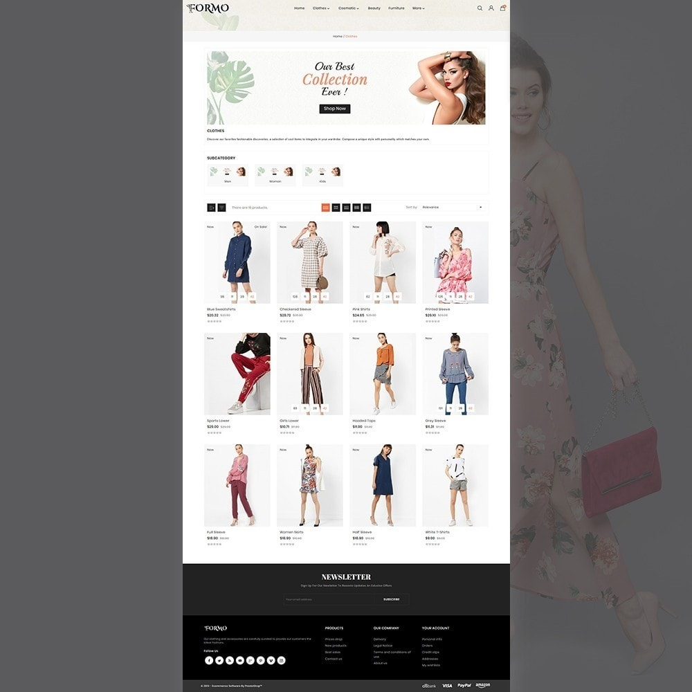 theme - Fashion & Shoes - Formo Fashion Shop - 4