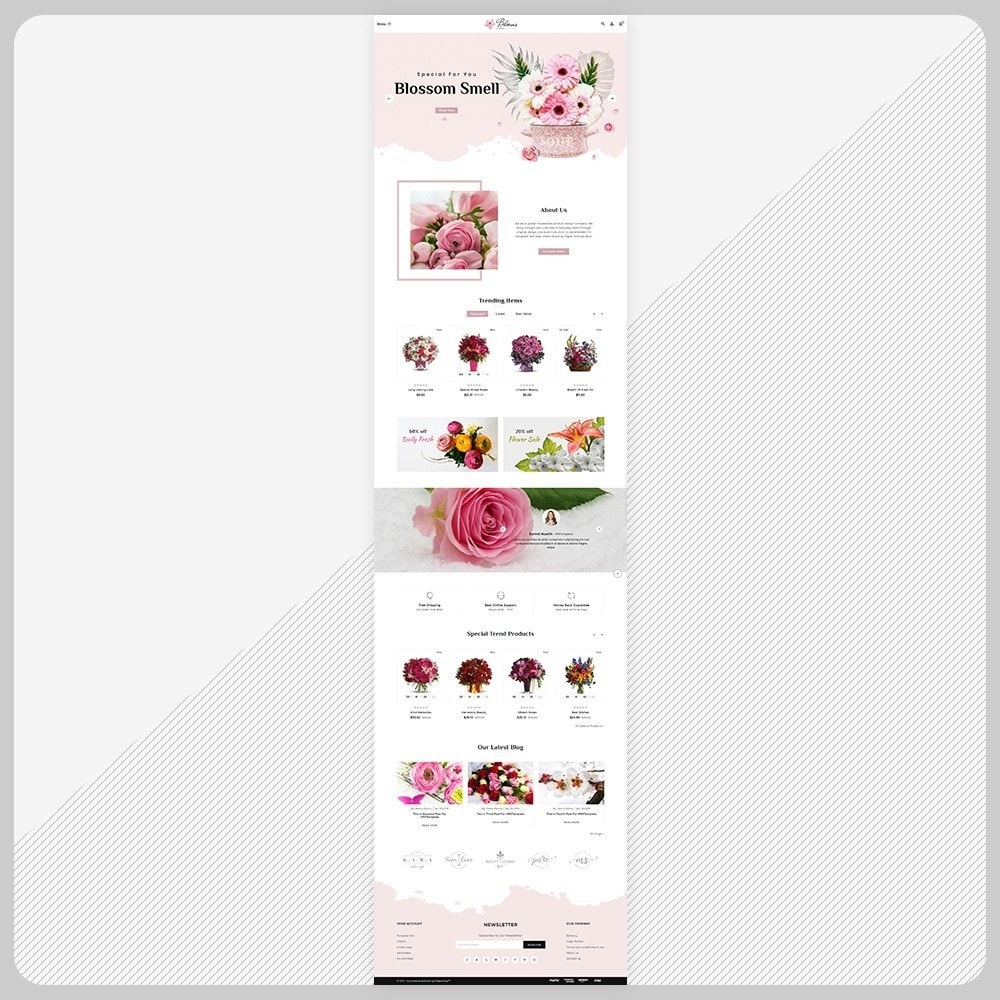 theme - Regali, Fiori & Feste - Fleur - Flower Super Mall - 2