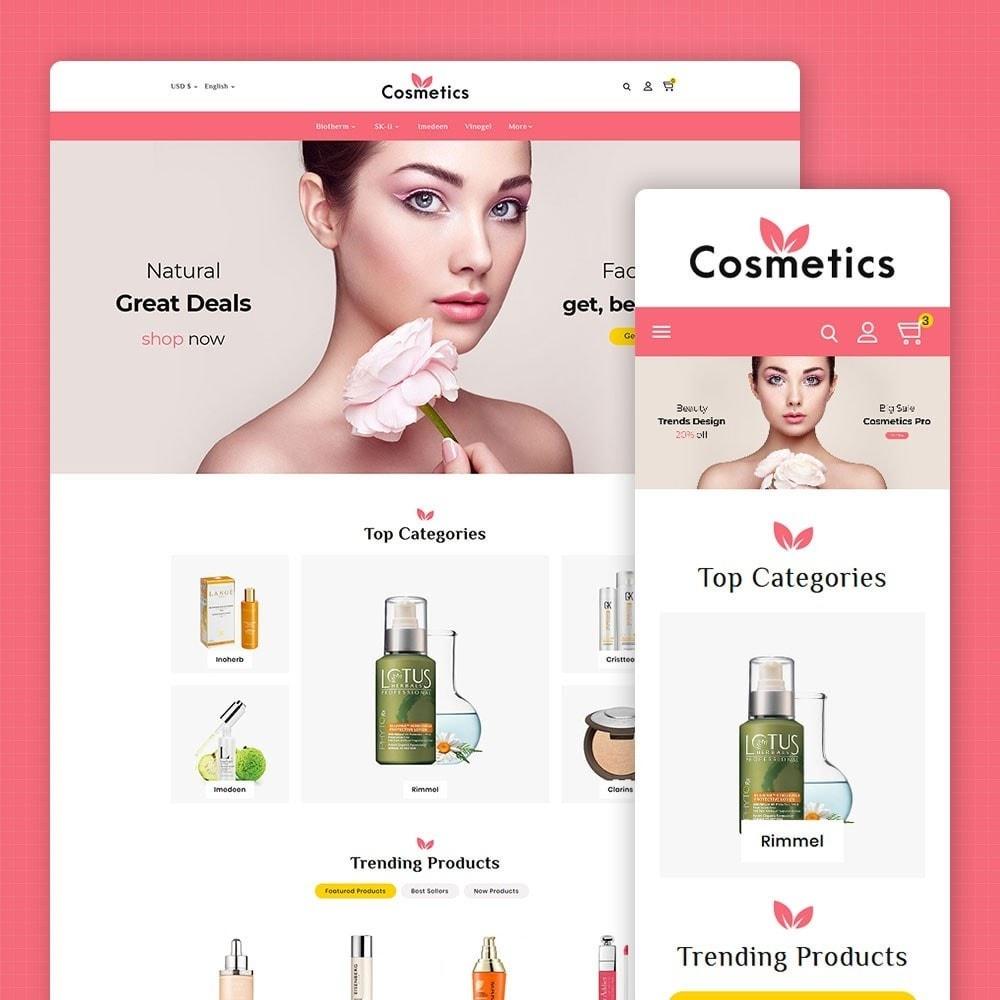 theme - Health & Beauty - Cosmetics & Bio Herbal - 1