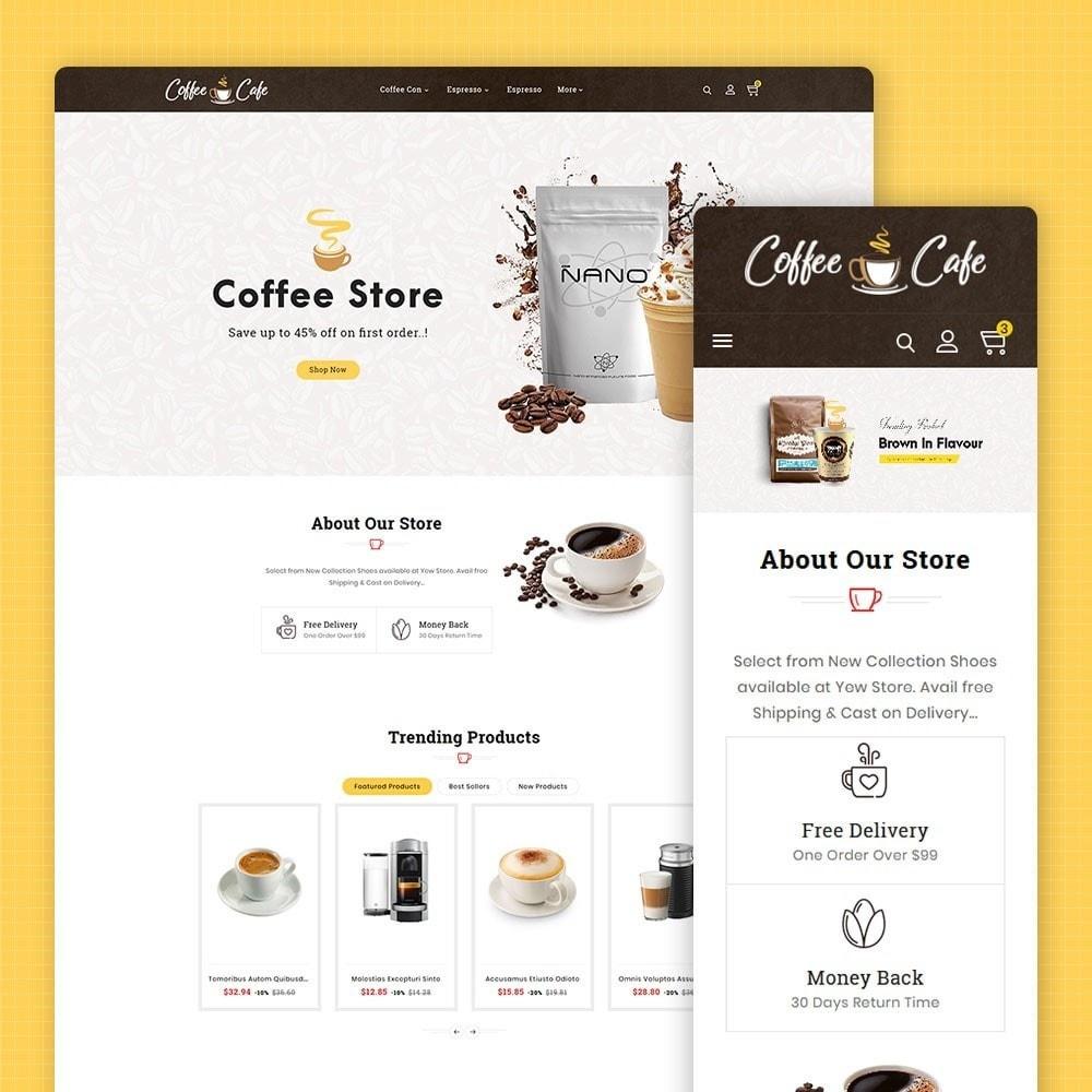 theme - Drank & Tabak - Coffee Cafe & Drinks - 1