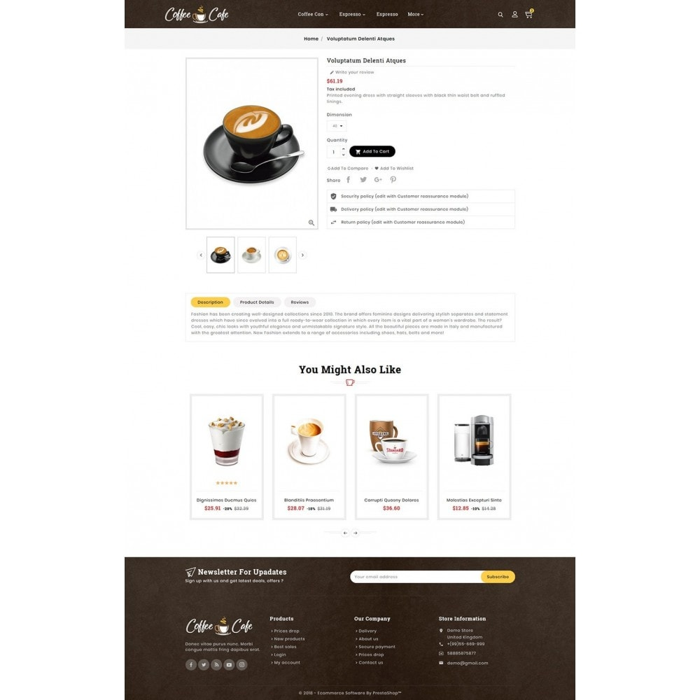 theme - Drank & Tabak - Coffee Cafe & Drinks - 5