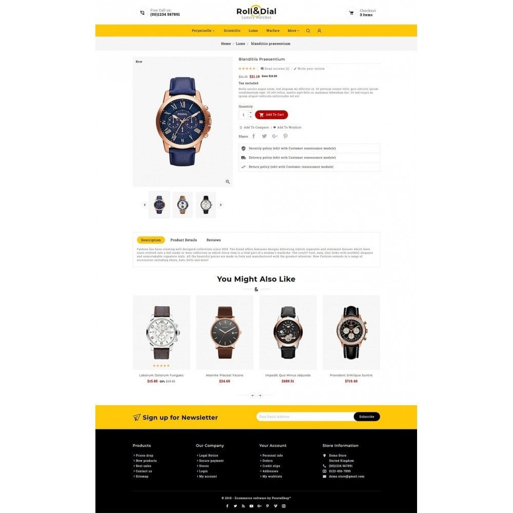 theme - Sieraden & Accessoires - Rolls & Dial - Watches - 5