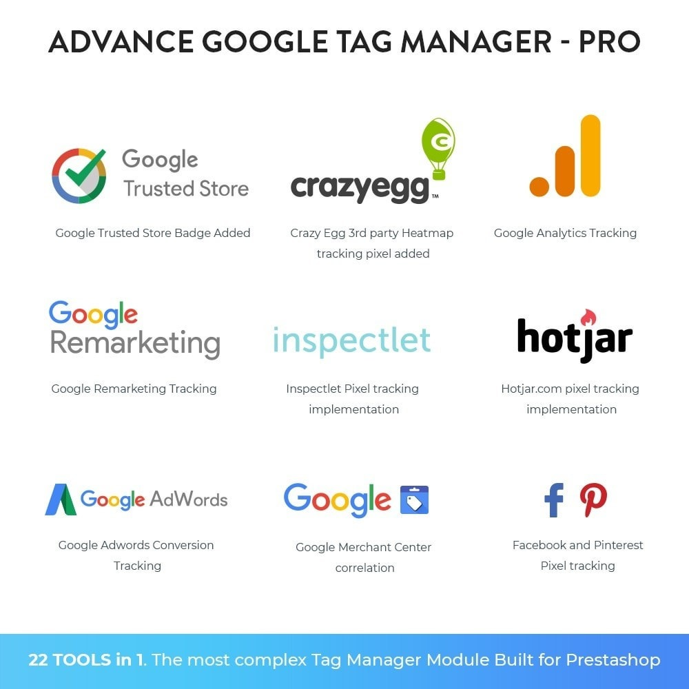 module - Статистика и анализ - Advance Google Tag Manager - PRO - 6