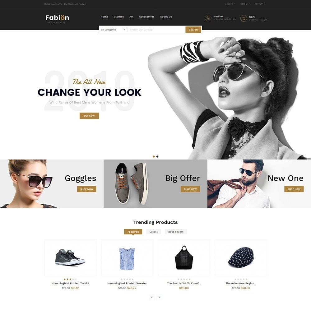 theme - Fashion & Shoes - Fabion Fashion Store - 2