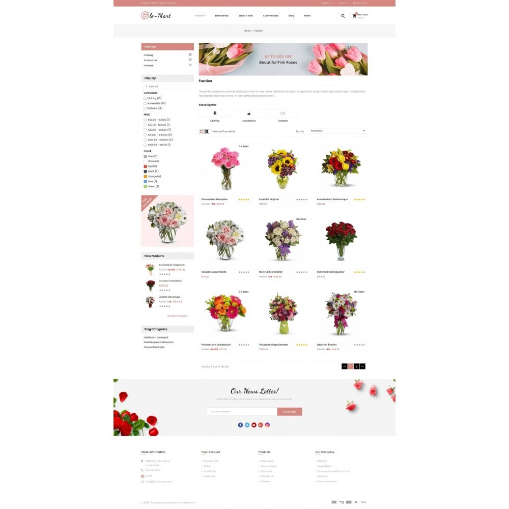 theme - Gifts, Flowers & Celebrations - Flowmart - Flowers Store - 3
