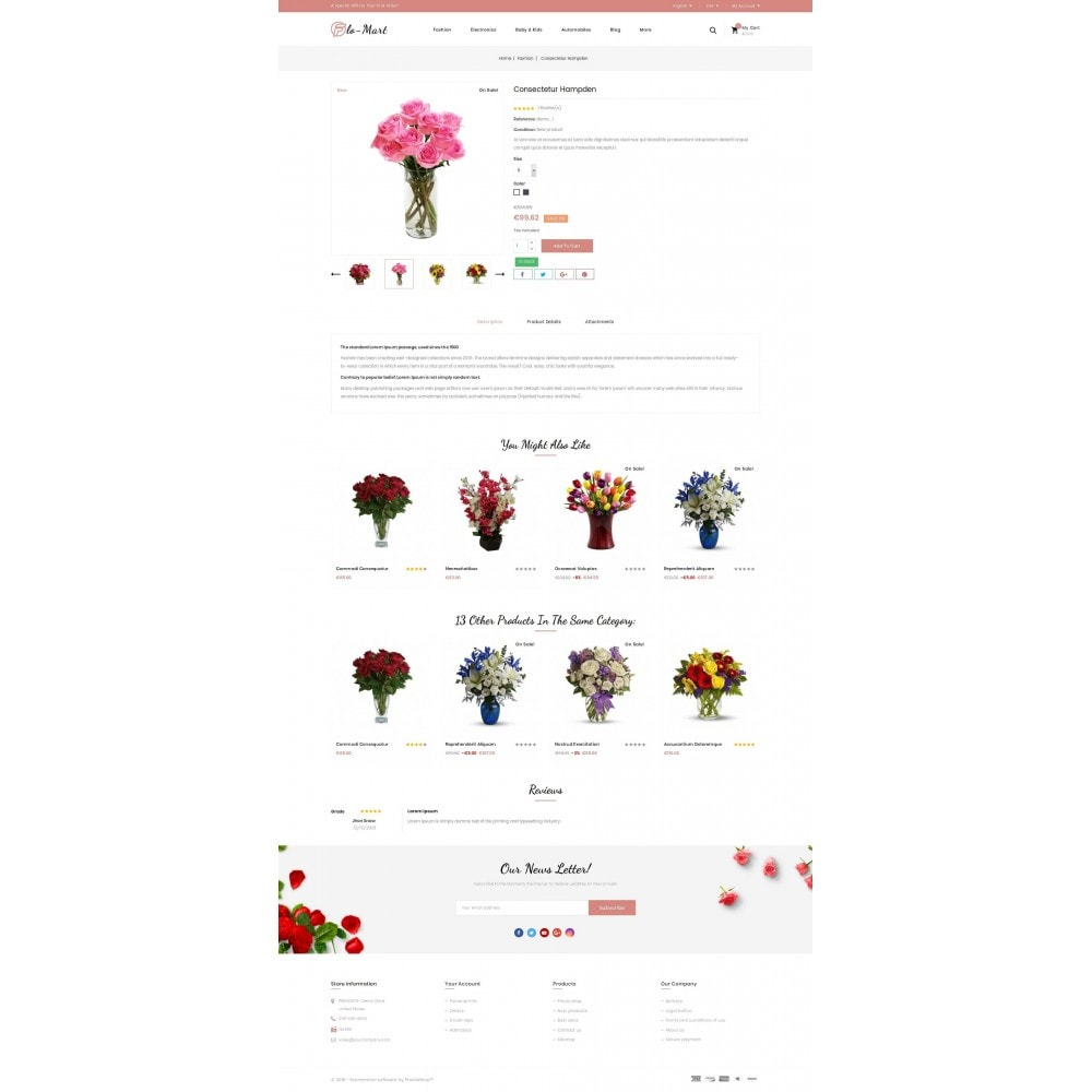 theme - Gifts, Flowers & Celebrations - Flowmart - Flowers Store - 5
