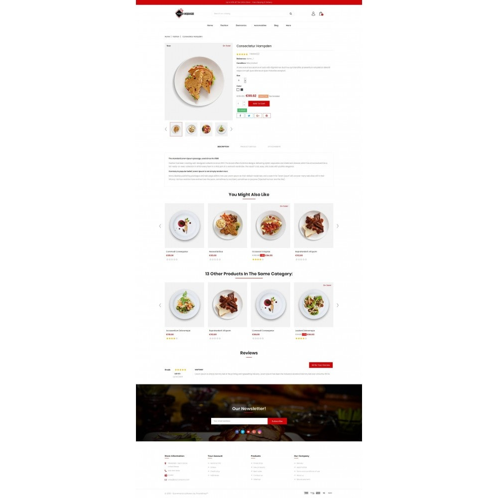 theme - Продовольствие и рестораны - Food Square - Restaurant Store - 5