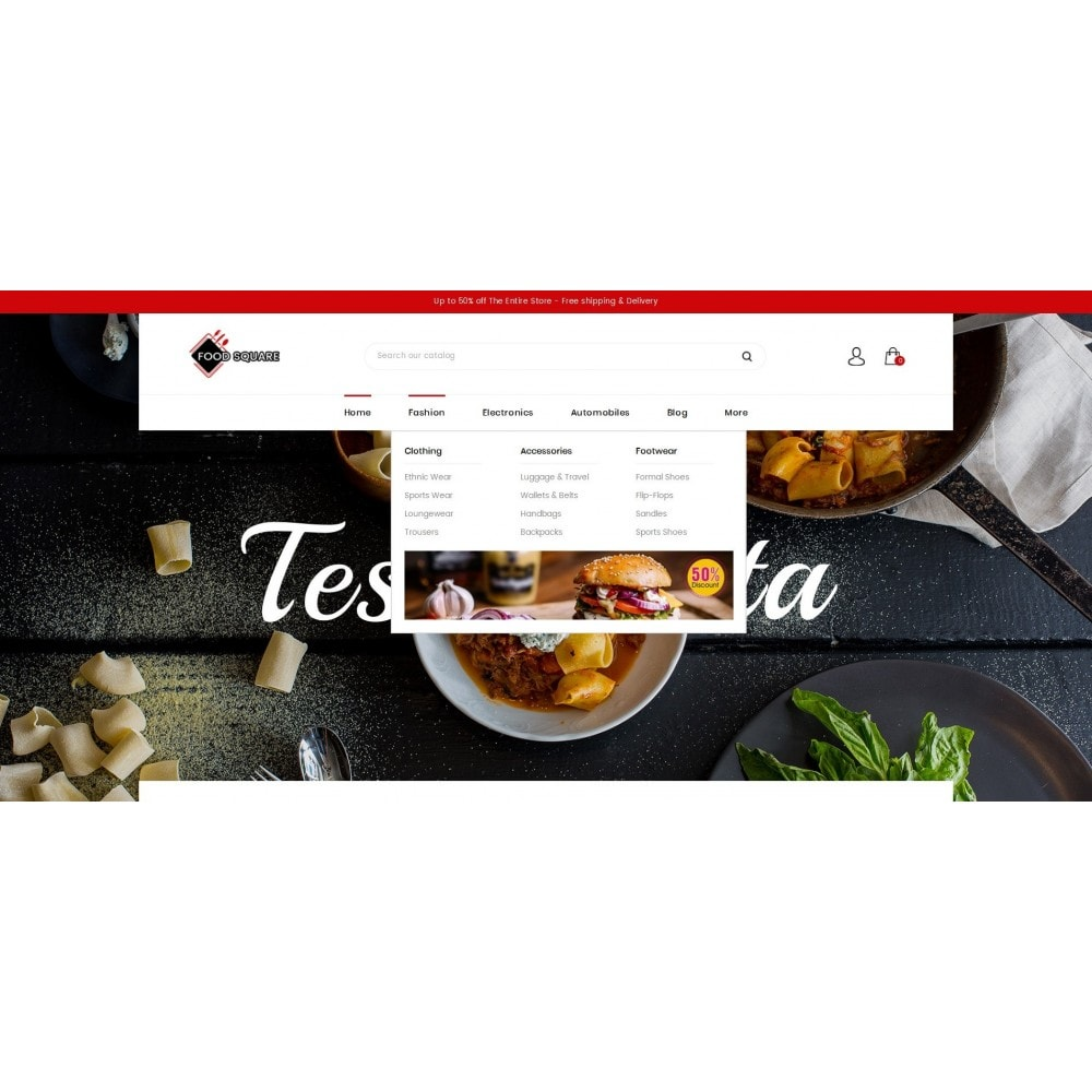 theme - Продовольствие и рестораны - Food Square - Restaurant Store - 6