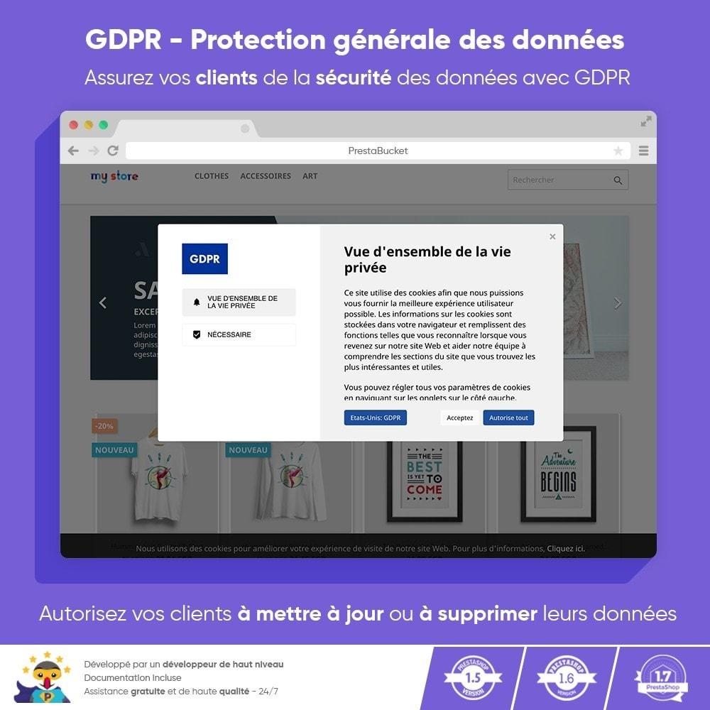 module - Législation - RGPD Règlement Général sur la Protection des Données - 1