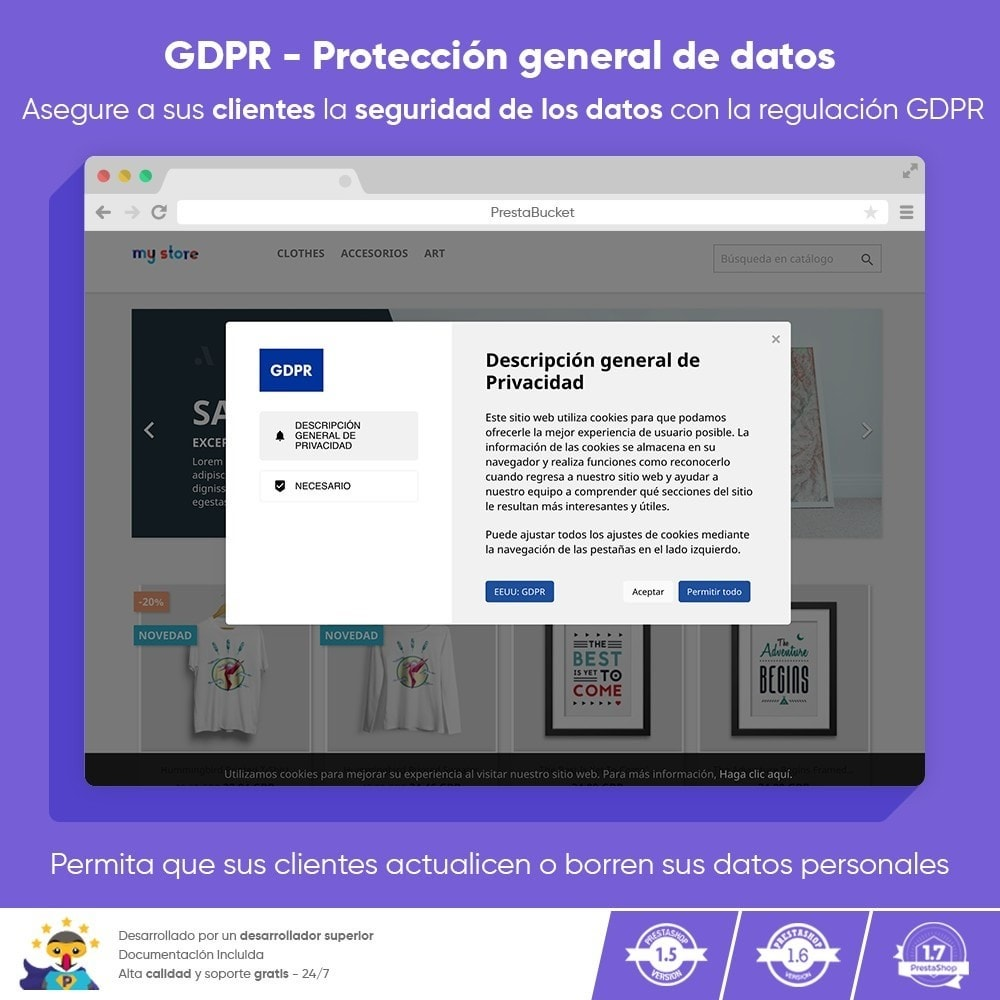 module - Marco Legal (Ley Europea) - RGPD PRO - Reglamento General de Protección de Datos - 1