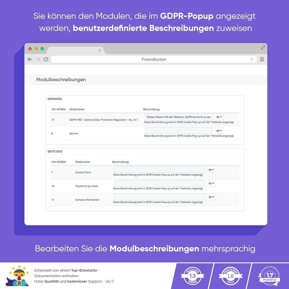 module - Rechtssicherheit - DSGVO PROFI - Datenschutz-Grundverordnung - ALL in 1 - 8