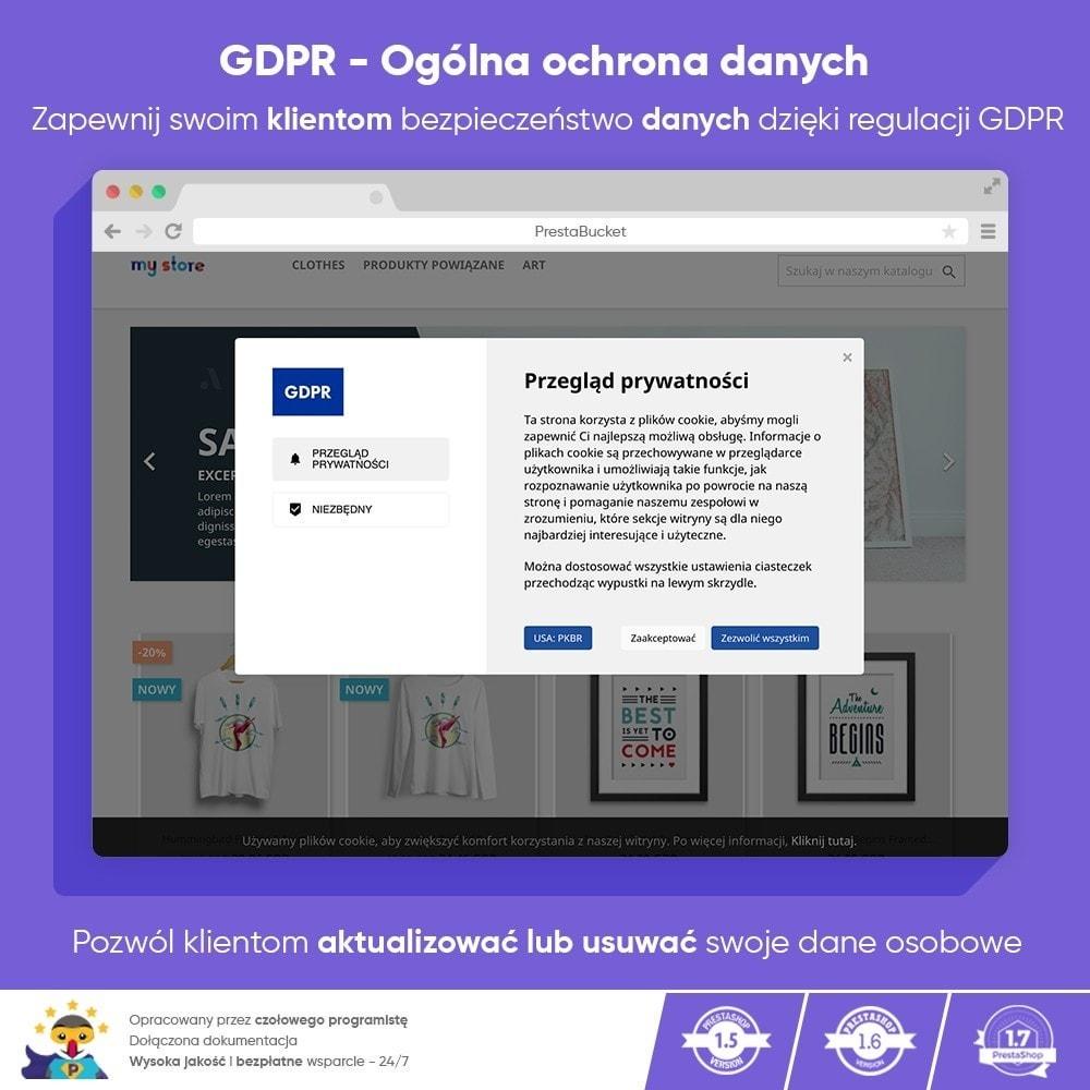 module - Wzmianki prawne - RODO ZAWODOWIEC Ogólne Rozporządzenie o ochronie Danych - 1