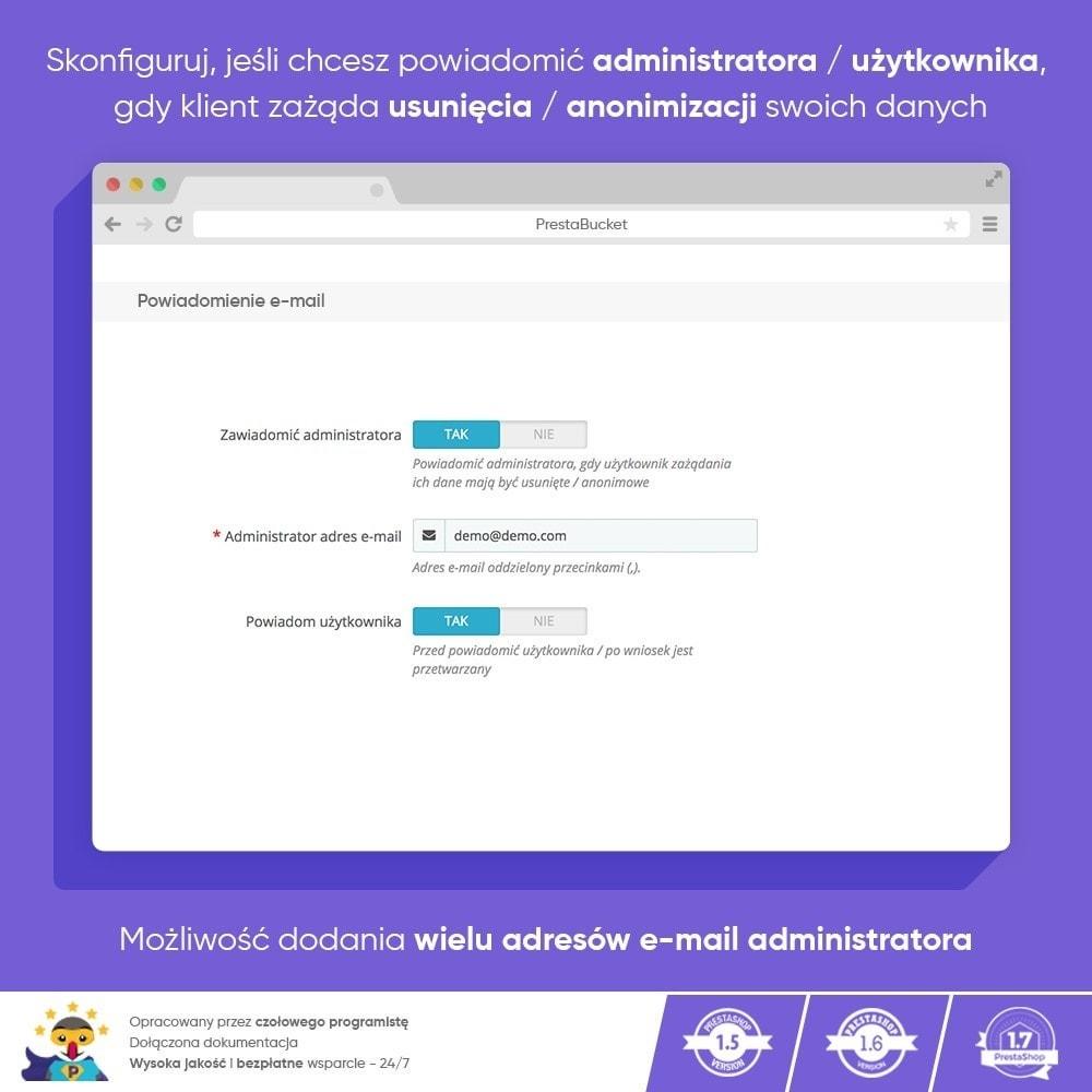 module - Wzmianki prawne - RODO ZAWODOWIEC Ogólne Rozporządzenie o ochronie Danych - 10