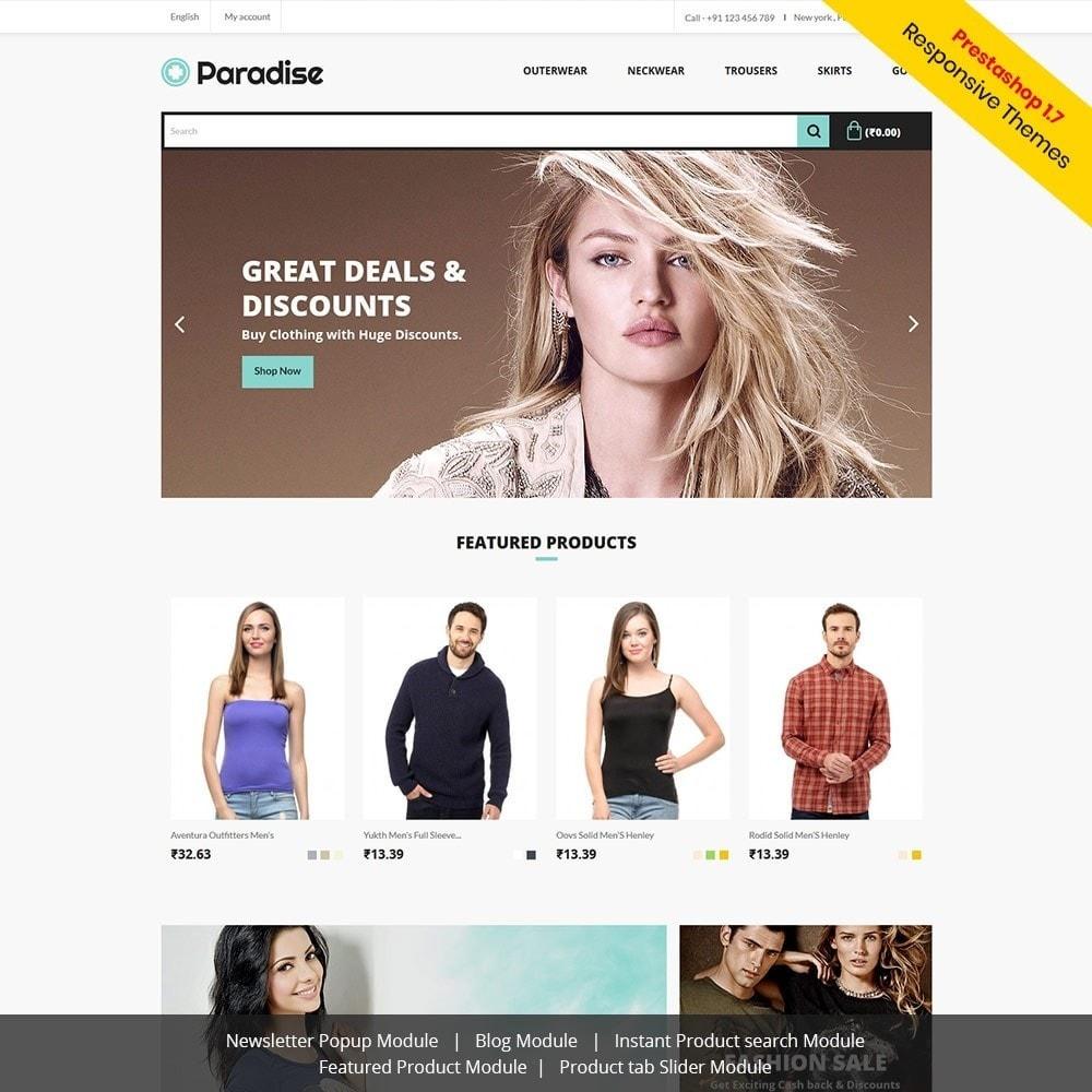 theme - Fashion & Shoes - Paradise Fashion - Apparels Store - 1