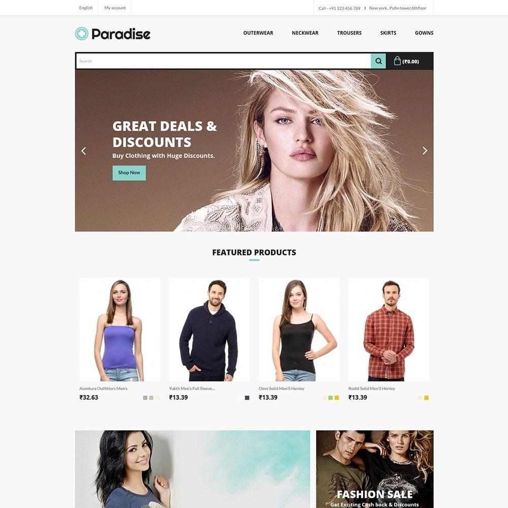 theme - Fashion & Shoes - Paradise Fashion - Apparels Store - 2