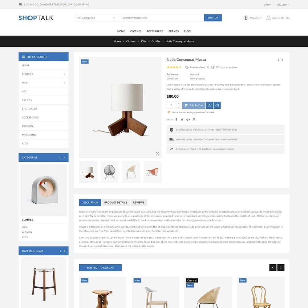 theme - Hogar y Jardín - ShopTalk Furniture Store - 6