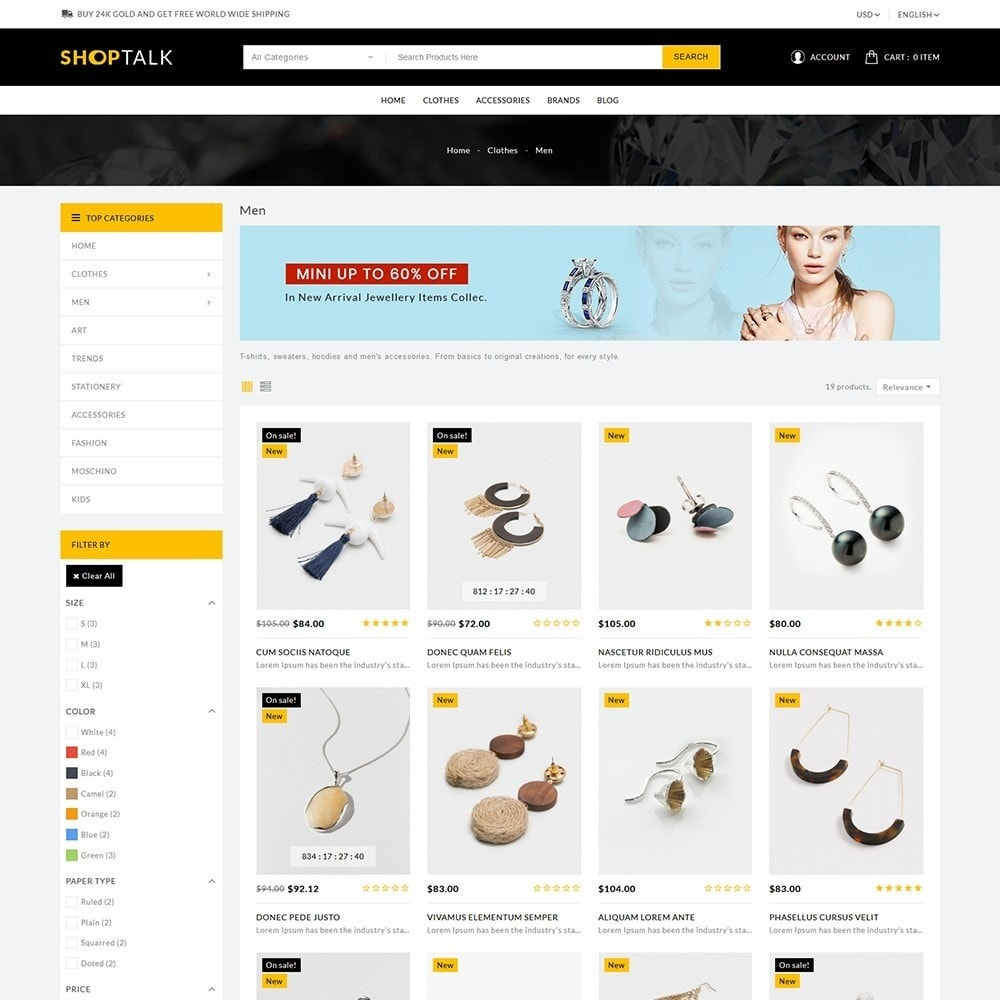 theme - Jewelry & Accessories - ShopTalk Jewellery Store - 4