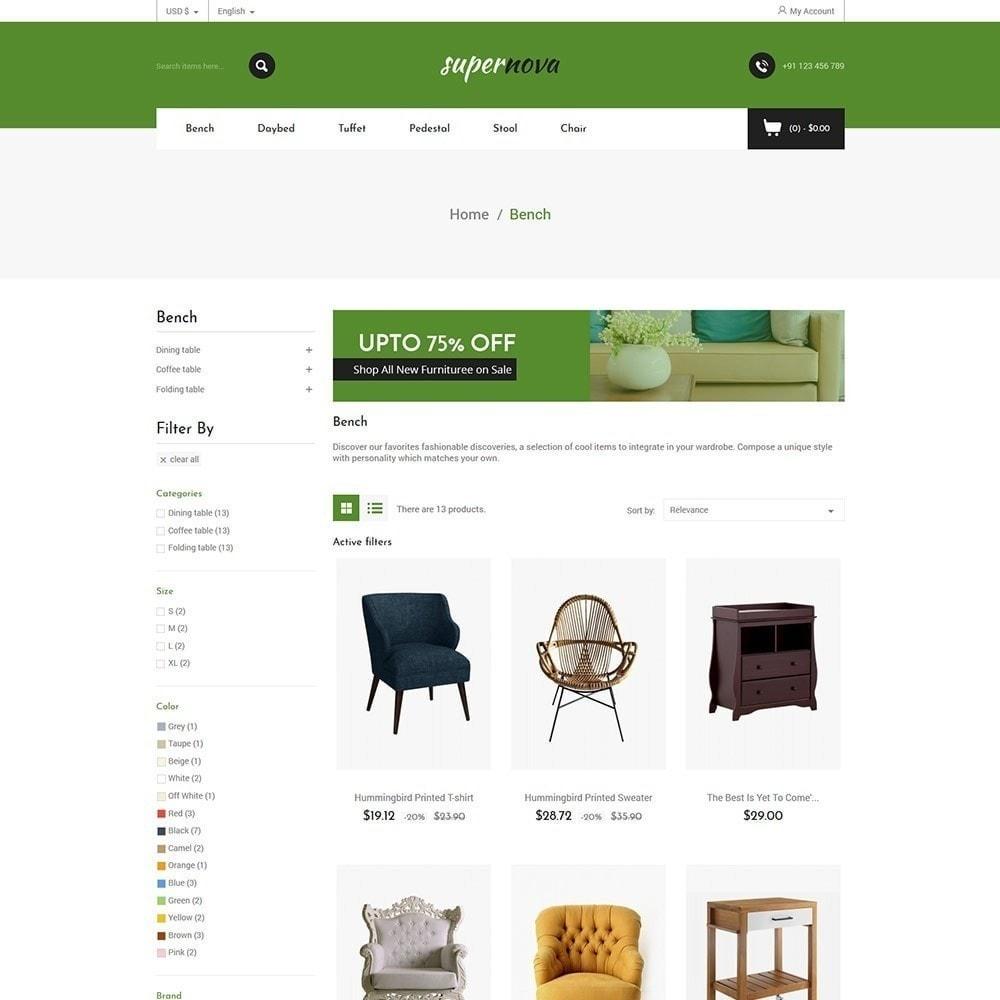 theme - Maison & Jardin - Super Nova - Magasin de meubles - 4