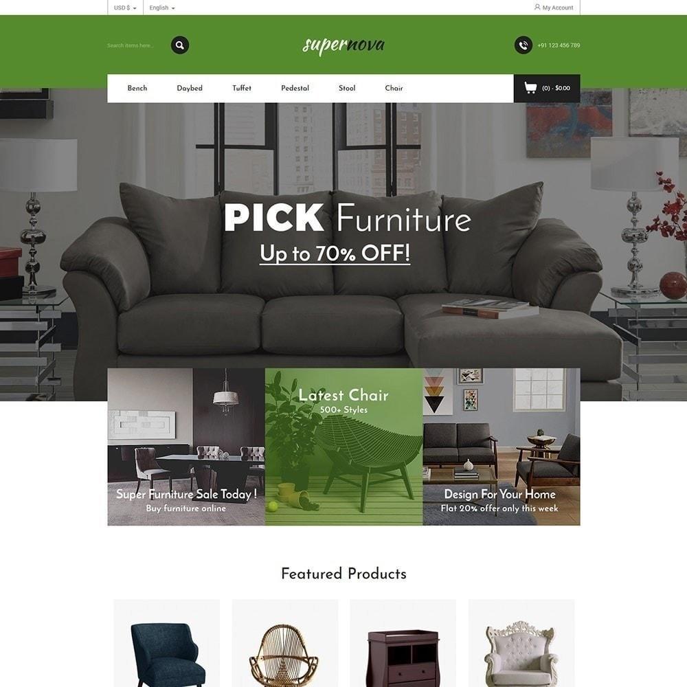 theme - Дом и сад - Super Nova - Мебельный магазин - 4