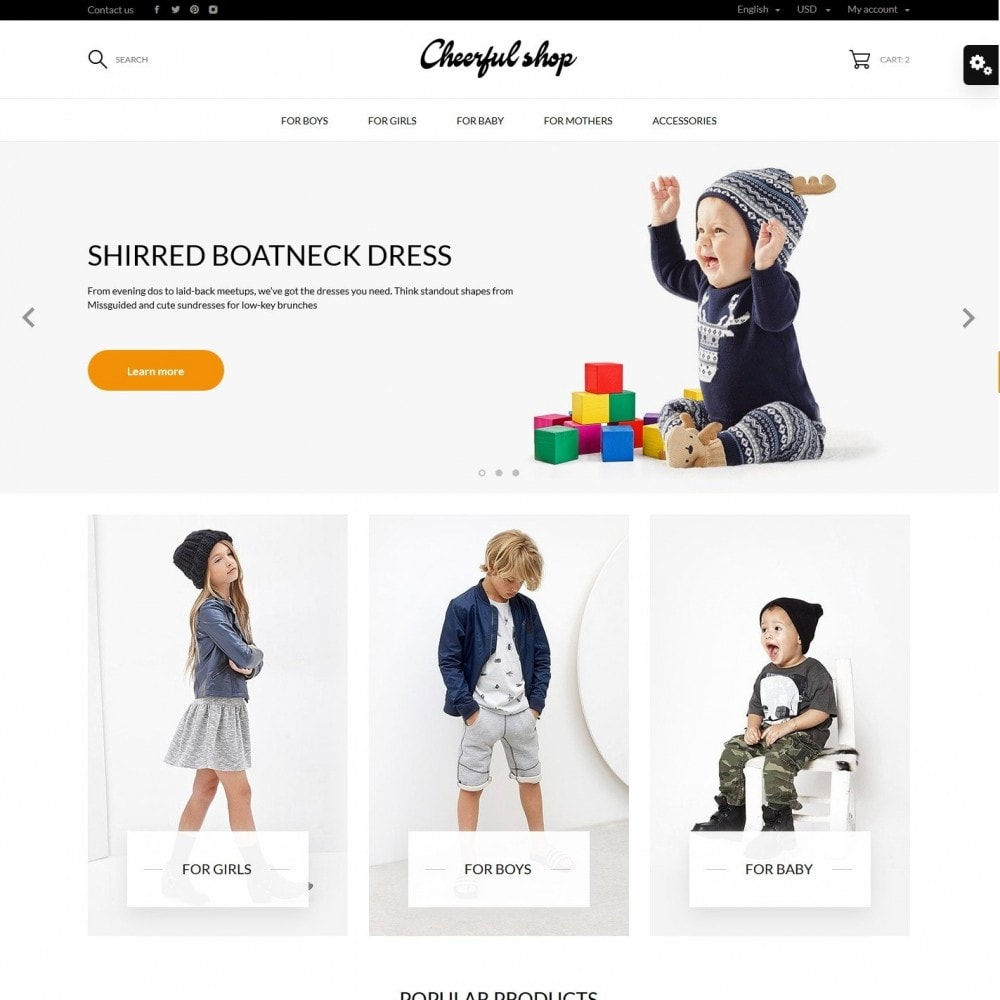 theme - Kids & Toys - Сheerful shop - 2