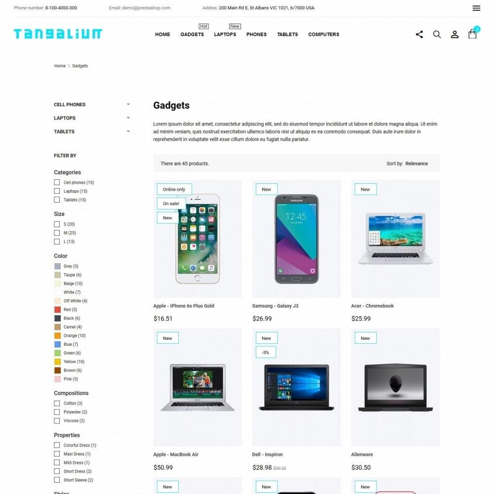 theme - Electronics & Computers - Tangalium - High-tech Shop - 5