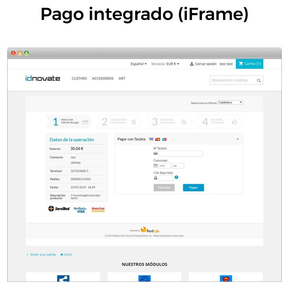 module - Pago con Tarjeta o Carteras digitales - REDSYS Pago tarjeta (Bizum, clicktopay, devoluciones) - 16
