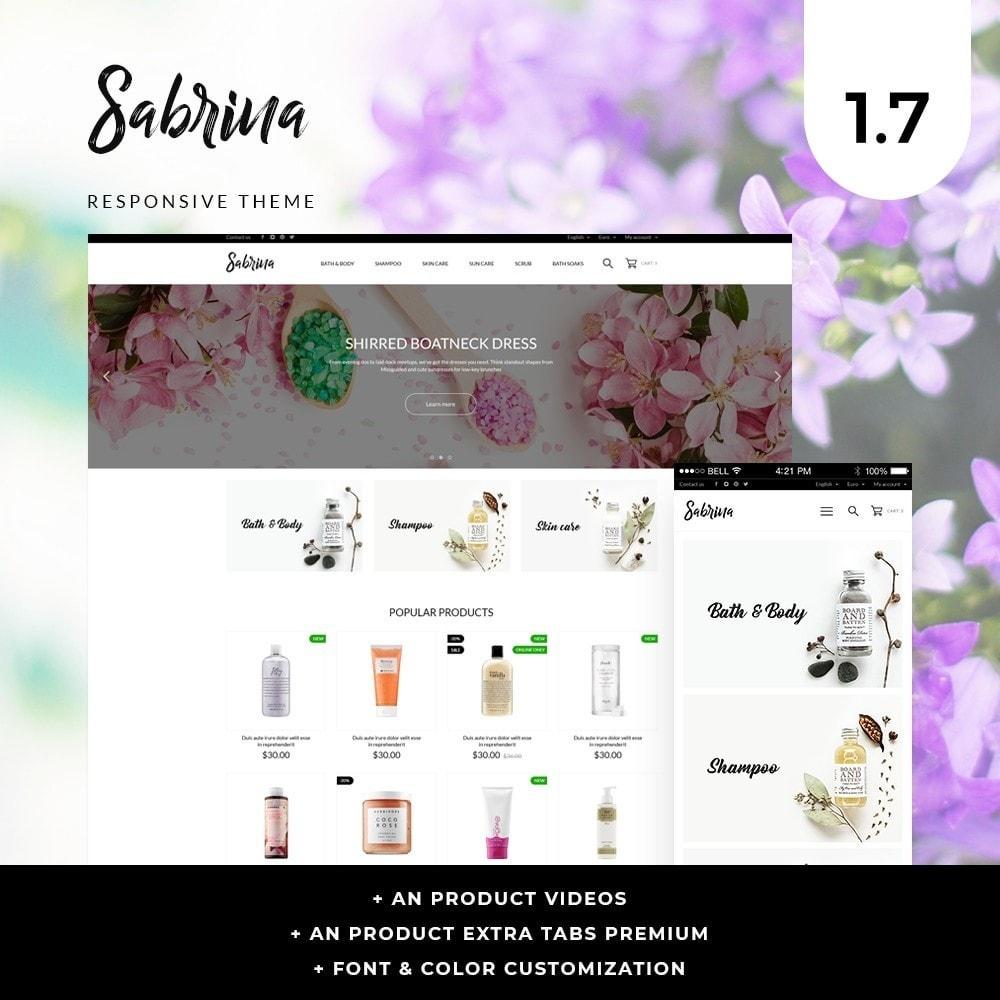 theme - Health & Beauty - Sabrina Cosmetics - 1