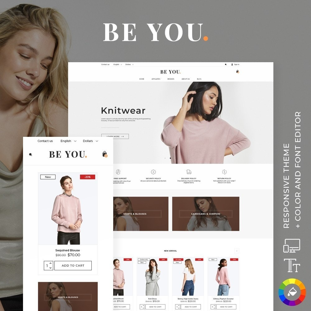 theme - Moda y Calzado - Be You Fashion Store - 1
