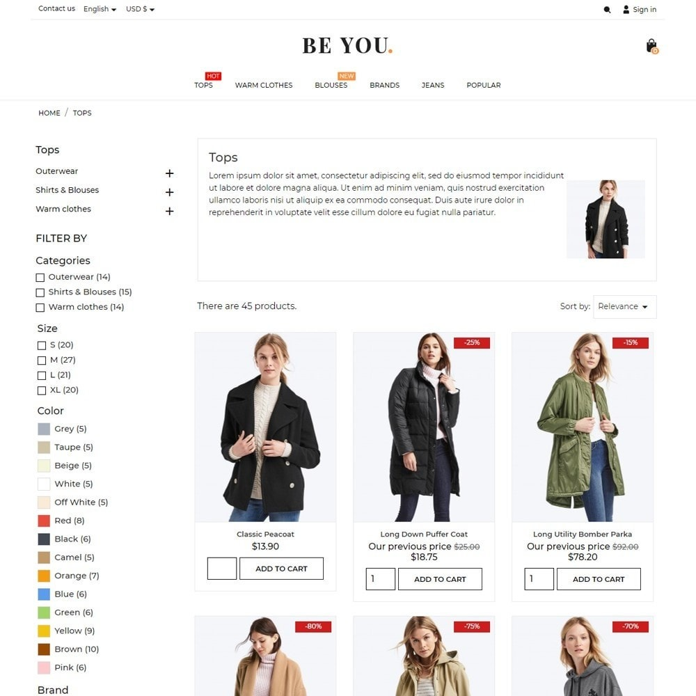 theme - Moda y Calzado - Be You Fashion Store - 6